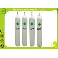 Medical / Industrial Gases Laughing Gas N2O For Food Additive , 1.977 G/L Density