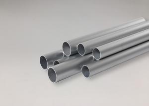 China 6063 T4 T5 T6 Extruded Aluminum Tubing Round , 6061 Anodised Aluminium Tube on sale