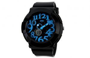 China Customized Womens Quartz Watches 30M Waterproof Dual Time Wrist Watch on sale