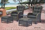 Comfortable Outdoor Rattan Chairs Patio Furniture Sets For Two Person