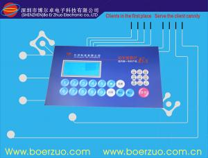 China Custom Waterproof Membrane Switch Panel With 3M468 Metal Dome Membrane Keypad on sale