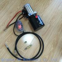 12V DC hydraulic power unit for tipping trailer