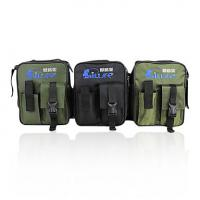 China 600D Multi - Purpose soft side compartment camouflage fishing tackle bags for fishing on sale
