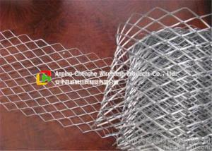 China Silver Color Stainless Steel Expanded Metal MeshDurable For Construction on sale