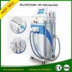 Super Quality Unique SHR IPL+Yag Laser+Fractional RF 4 in1 best beauty equipment