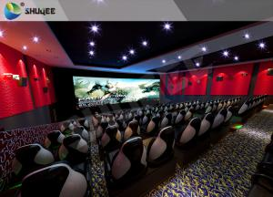 China Customized 5D 9D XD Cinema Theater With Emergency Stop Buttons For Indoor on sale