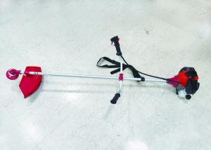 China Portable Nylon Line Blade Petrol Brush Cutter Low Vibration Clutch Design on sale