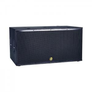 "China Double 18""subwoofer speaker DE Acoustics TF-2182B on sale"