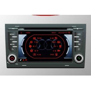Audi A4 gpsのDVDプレイヤー、土曜日Navの可聴周波ステレオ セットが付いているAudi A4 GPSの運行DVDラジオ プレーヤーの頭部の単位