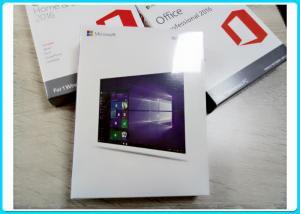 China Windows 10 Pro software + COA Licence Sticker 64 Bit Win10 Professional OEM Key on sale