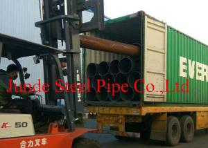 China API 5L / ASTM A53  Standard ERW STEEL PIPES used in oil and gas project  SIZE OF 610MM*12.7MM on sale