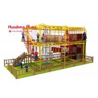 Kindergarten Indoor Adventure Playground , Fun Indoor Playground Climbing Frames