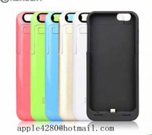China 3200mAh External Battery  case Backup Power Charger Battery Phone Cases for iPhone 6 (apple4280@jhotmail.com) on sale