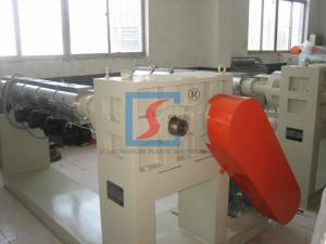 China SJ Series Single Screw Plastic Extruder For Pipe / Rod / Sheet / Board on sale