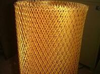 China Copper galvanized Expanded wire mesh stretch metal mesh with small hole on sale