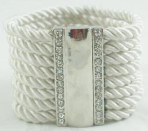 China Cord Magnet Bracelet on sale