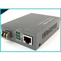 Grey Optical Fiber Media Converter 100Base-FX Single Mode 2Km 1310Nm Wavelength