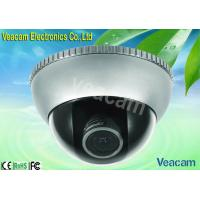 4 - 9mm Manual Zoom Lens Wide Angle Vandal Proof Dome Camera With Back Light Compensation