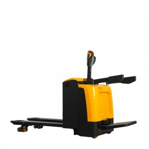 China 3 Position 3000KG Hand  Battery Electric Powered Pallet Truck on sale