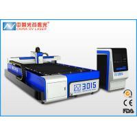 IPG Fiber 3mm Stainless Steel Laser Cutting Machine , 500 Watt Sheet Metal Cutter