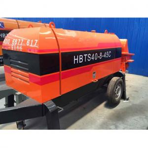 China Stationary concrete pump HBTS40 per hour on sale