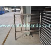 1219*1700mm galvanized scaffolding frame system main type frame door frame Ladder frame H frame walk through frame
