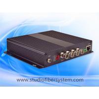 4Port 3G/HD SDI&Ethernet&Audio&PTZ data extending over single mode fiber to 80KM for CCTV or broadcast system