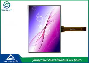 China Stylus Pen 5 Wire Resistive Touch Panel 8.5 Inch With ITO Film Structure on sale