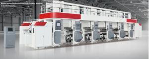 China ELS rotogravure printing machine price electric drying tube 300m/min 750mm unwind/rewind 3-50kgf servo motor on sale