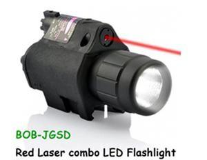 China Hot sale red laser cambo LED flashlight/red laser sight on sale