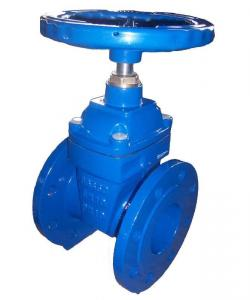 China PN16 DN500 Resilient Gate Valve DIN F4 For Potable Water / Sea Water on sale