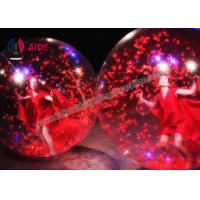 Acrobatics Dance Props Human Ball Game For Stage Show , Event Inflatable Water Walk Balloon