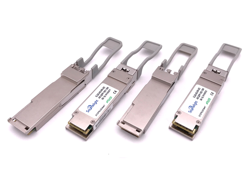 40gbase-Sr Duplex QSFP Optical Transceiver 4CH VCSEL Array Laser