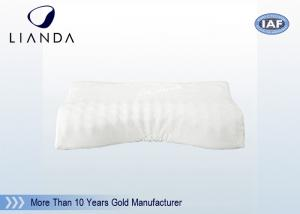 China Luxury Memory Foam Pillows White Velour , Memory Foam Bed Pillow CE / SGS on sale