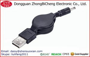 China USB Retractable 3511dc Power Supply Car Cigarette Lighter Aux Cable on sale