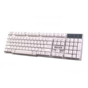 China 2.0 USB Connection Gaming Computer Keyboard Comfortable 100mA Working Power on sale