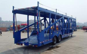 China Enclosed Box Van Vehicle transport trailer , Strong Box Utility Car Trailer on sale