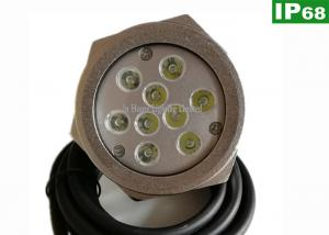 China High Power 27W Marine RGB LED lights / LED Drain Plug Light for Yacht on sale