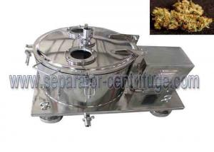 China Model PPTD Top Discharging Basket Centrifuge For Ground Plant Washing With Alcohol on sale