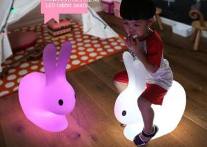 China Color Changing Outdoor Rabit Kids Led Light Chair Cordless Rechargeable on sale