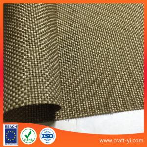 Patio Furniture Sling Material.Golden Color Outdoor Mesh Fabrics Patio Furniture Sling Fabric By
