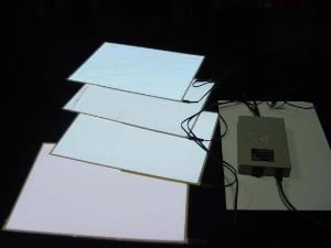 China EL backlight sheet on sale