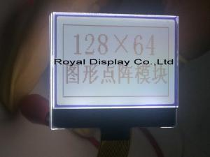 China 3.3V Power Supply Dot Matrix Lcd Module With ST7565R 128X64 Dot AA=34.53*21.73mm RYG12864M on sale