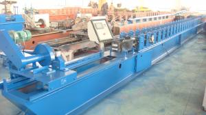 China Cold Rolled Steel Shutter Door Forming Machine with Hydraulic Cutting on sale