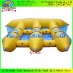 China Good Price 0.9mm PVC Tarpaulin 6 Person Inflatable Fly Fish Boat/Flying Fishing Boat wholesale