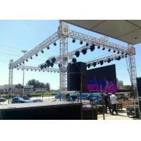 Shape Customized Aluminum Stage Truss Sliver Exhibition Truss System For Events