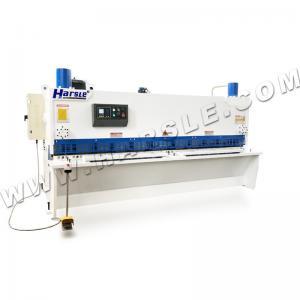 China Hydraulic shearing machine suppliers, QC11K-12×3200 metal cutting shearing machine for sale on sale