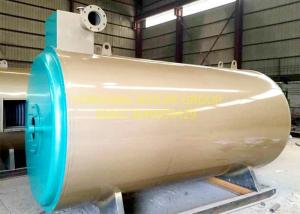 China High Performance Thermal Oil Boiler , Gas / Oil Fired Heating Oil Boiler 700 KW on sale