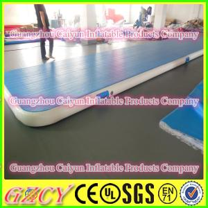 China Commercial Inflatable Tumbling Air Mat Gymnastic Air Floor on sale