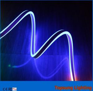 China 12v high quality outdoor blue double side led neon flexible light on sale